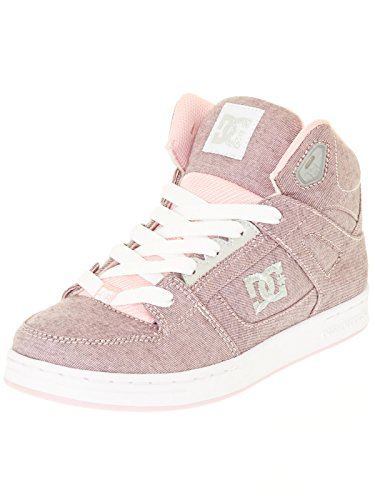 DC Shoes  Rebound Tx Se, Sneakers Basses Fille Rose