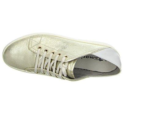 Tamaris  1-1-23611-28 975, Chaussures de ville à lacets pour femme or or Or