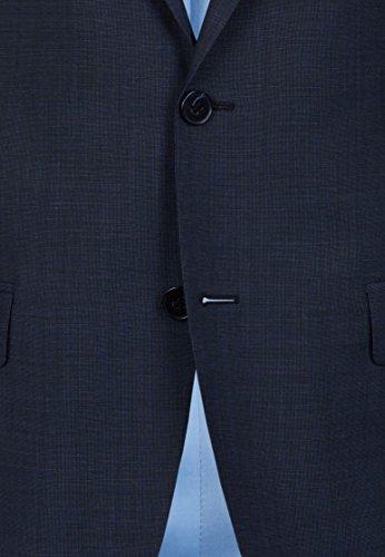 Michaelax-Fashion-Trade - Blazer - Uni - Manches Longues - Homme Blau (67)