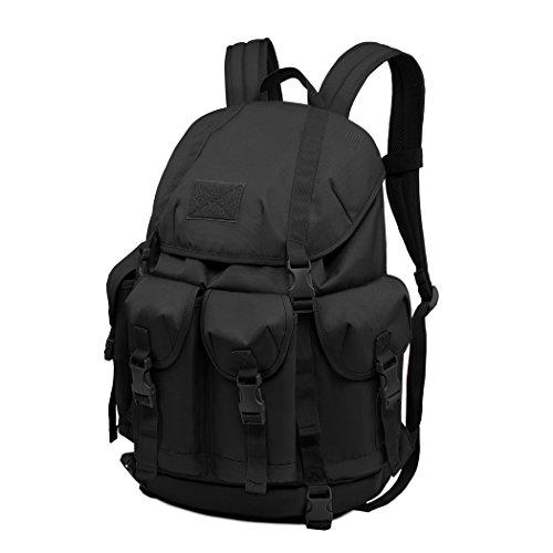 Lässiger Daypacks,Mardingtop Outdoor 30L Rucksack Schüler Taktischer Rucksack Wanderrucksack Trekkingrucksack für Wandern/ Reisen/ Camping mit Großer Kapazität