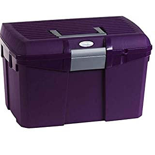 Amesbichler Norton Purple/Grey Tack Box/Grooming Box/Grooming Box |putzkasten