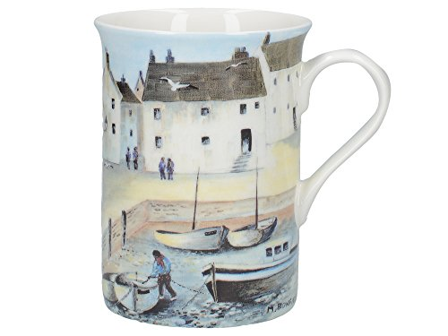 Creative Tops Cornish Harbour Fine Bone Mug in Gift Box (Becher) Bone China-box