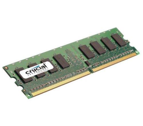 Crucial 2GB DDR2-800 UDIMM lowest price