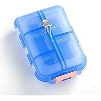 Meta-U – 10 Schlüssel Pillendosen – Tablettenhalter - Kompakt und tragbar - Für Pillen | Ergänzungen | Ohrringe... preisvergleich bei billige-tabletten.eu