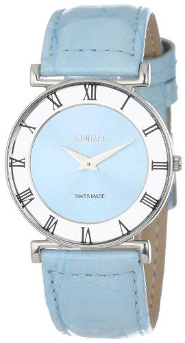Jowissa - J2.014.M - Montre Femme - Quartz Analogique - Bracelet Cuir Bleu