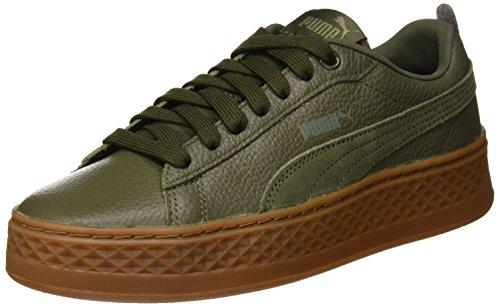 Puma Damen Smash Platform L Sneaker, Grau Forest Night 05, 40 EU
