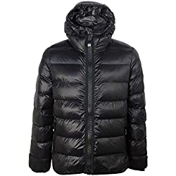 Superdry Crater Padded Jacket, Chaqueta Deportiva para Hombre, Negro (Black 02a), Large