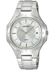 Seiko Unisex-Armbanduhr Analog Quarz Edelstahl SGEF59