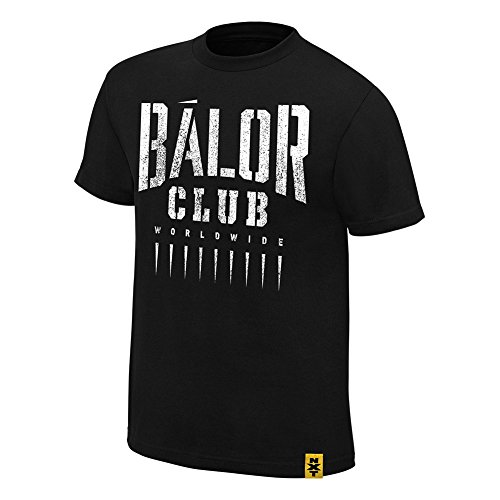 "Ufficiale WWE/NXT - Finn Bálor ""Bálor Club Authentic Maglietta Black Medium"