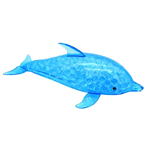 ielzeug, Spongy Dolphin Perle Stress Ball Toys Squeeze Spielzeug Stress Relief Spielzeug ()