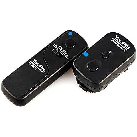YOUPRO yp-860/DC0–Disparador remoto inalámbrico para Nikon D810/D800/D800E/D700/D300S/D300/10Pin
