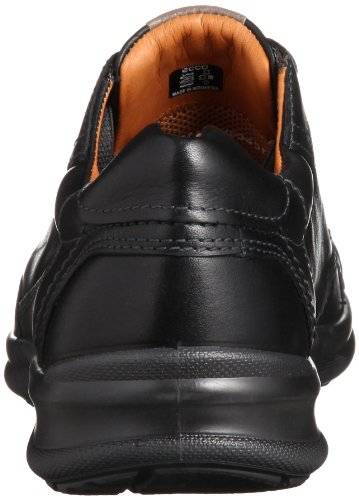 ECCO  Remote Leather Lace Up, chaussures homme Noir (Blackbouncer01001)