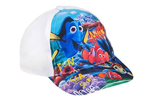 Disney Findet Nemo Baseball Cap für Babys, original Lizenzware, weiß/bunt, Gr. 48