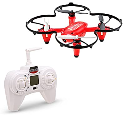 DeeRC Drone with Camera, HS170C 6-Axis Gyroscope 2.4 GHz Remote Control Quadcopter with 4 GB SD Card from DeeRC
