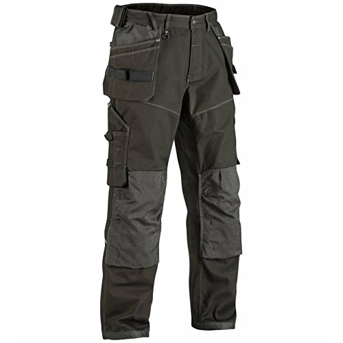 Blåkläder X1900 pantalon de travail ultra robustes Olive Vert/Noir