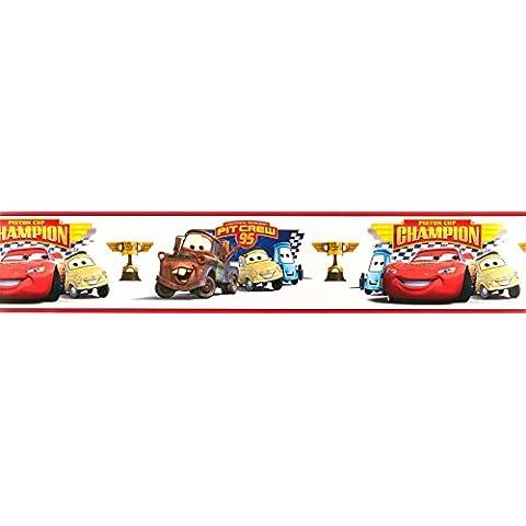 RoomMates RMK1517BCS Disney Cars - Pegatina para decorar las paredes de una habitación infantil