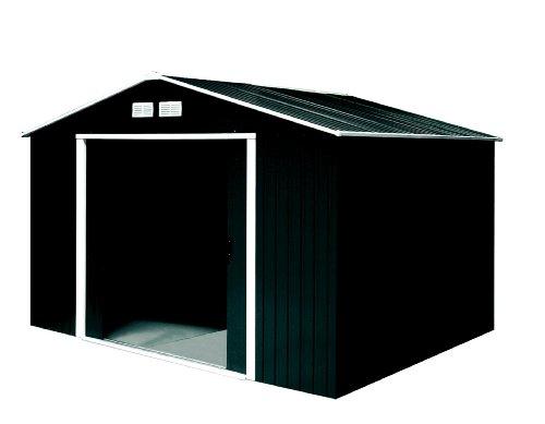 Tepro Gartenhaus / Metallgerätehaus Titan 8x8 anthrazit