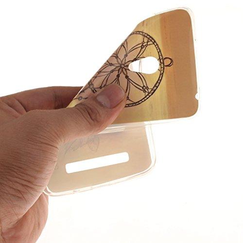 Ukayfe Per Zenfone 5 Custodia fit ultra sottile Silicone Morbido Flessibile TPU Custodia Case Cover Protettivo Skin Caso Con Stilo Penna - Almond Tree Campanula
