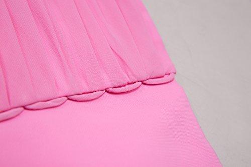 Bridal_Mall - Robe - Trapèze - Sans Manche - Femme Gris foncé