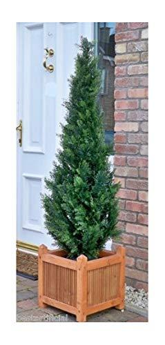 150cm 5ft mejor artificiales cedro pino ciprés conífera árbol