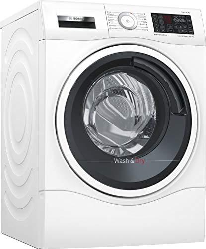Bosch Serie 6 WDU28540ES Independiente Carga frontal A Blanco lavadora - Lavadora-secadora (Carga frontal, Independiente, Blanco, Izquierda, Botones, Tocar, LED)