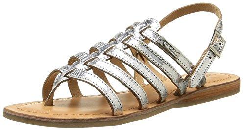 Les tropéziennes, heripo, sandali da donna, argento (argent), 38 eu