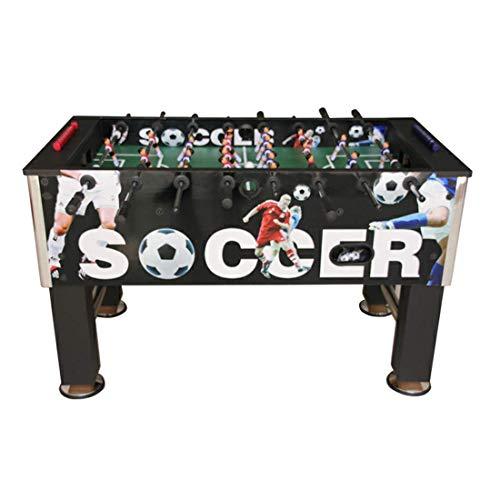 MJ-Games Tischfußball für Erwachsene und Kinder Tischfußball Fußballspiele