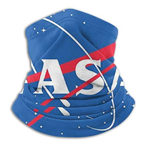 Jxrodekz NASA Insignia Logo Neck Gaiter - Unisex, antibakterieller Winter-Nackenwärmer, komfortabler, Leichter Schal