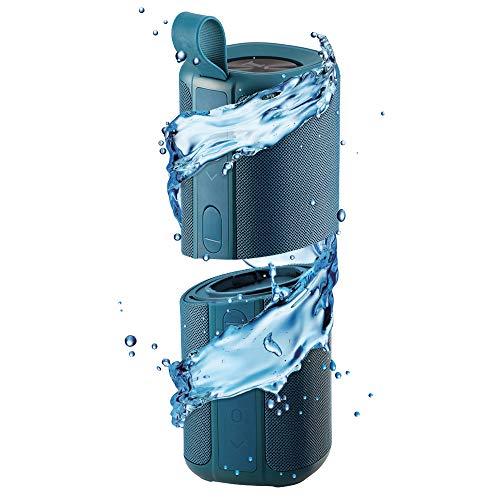 iBall Musi Twins - TWS Waterproof IPX7 Bluetooth Speaker (Teal)
