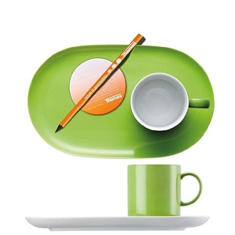 Rosenthal - Thomas - Sunny Day Office-Set 2-tlg. - Becher mit Henkel - Untertasse - Apple Green - Apfelgrün