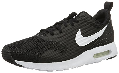 Nike Air Max Tavas, Sneakers Basses Homme Noir (Black/White)