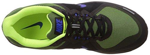 Nike Dual Fusion X 2, Scarpe da Corsa Uomo Multicolore (Black/Racer Blue-Volt-White)