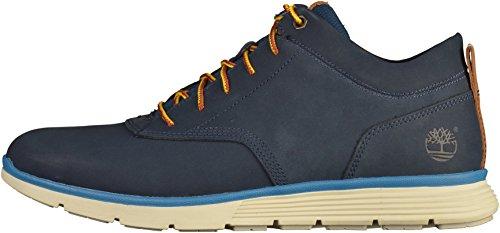 Timberland Herren Halbschuhe - Killington Half Cab Chukka - Blau Schuhe in Übergrößen Blau