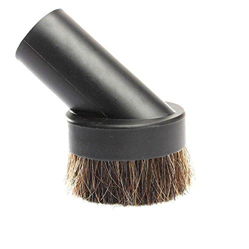 spares2go Rosshaar Runder Abstaubdüse Werkzeug Kopf für ShopVac Staubsauger (32mm)