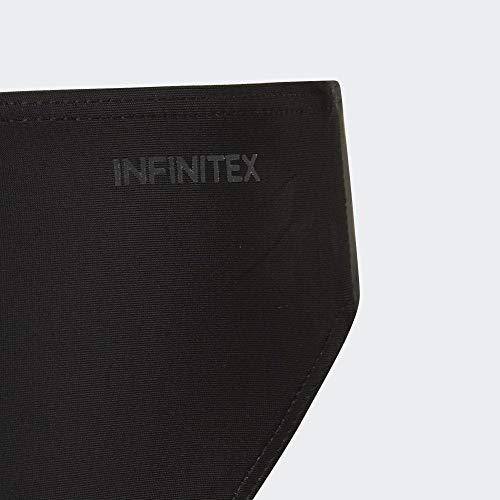 adidas Mädchen 3-Streifen Bikini-Set, Black/White, 164