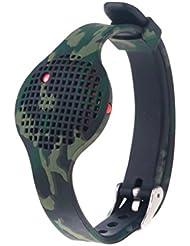VAN-LUCKY Ersatz Silikon Armbänder / Strap / Bands für Moov Now Wearable Audio Coach(Tracker not included)