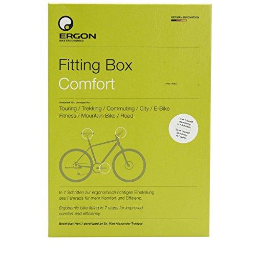 Preisvergleich Produktbild Ergon Fitting Box Comfort Fahrrad Einstellhilfe,  48100010
