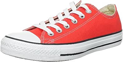 Converse AS Season Ox Can 132303C, Unisex - Erwachsene Fashion Sneakers, Rot (tomato), EU 36.5 (US 4)