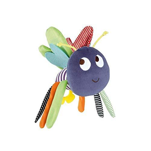 Wilk Tier Bee Handbells Developmental Bettglocken-Kind-Baby Rattle Spaziergänger Krippe Plüschtiere Kinder Puppen Soothing Krippe Hanging Spielzeug 1Pc