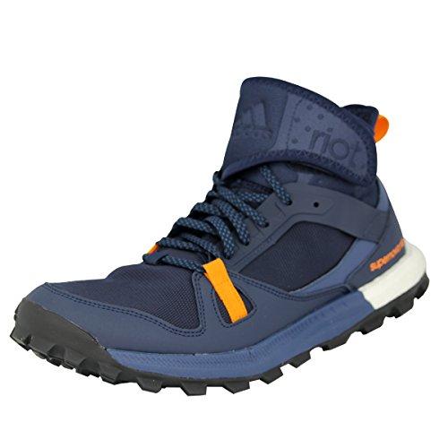 adidas Supernova Riot M, Chaussures de Running Entrainement Homme Multicolore - Negro / Azul / Naranja (Maruni / Azumin / Eqtnar)