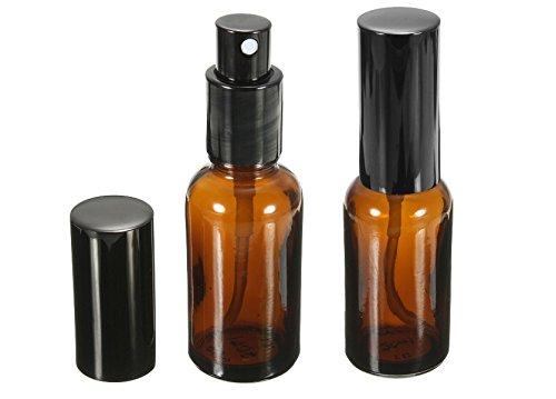 Chakil 2 Botes Transparentes con pulverizador Bote Spray Botellas Vacía De Plástico Transparentes Contenedor Perfume Spray Frasco para Viaje en Bolso 50ml