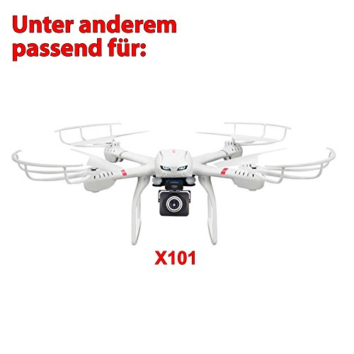 MJX C4008 HD Action Cam FPV Live Übertragung WIFI 720p HD-Kamera-Set auf Smartphone/Tablet für Mjx Quadrocopter X101,X102,X600 - 5