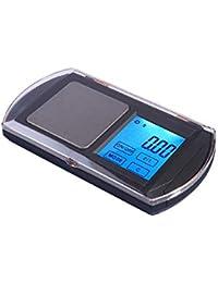 BENJUN Básculas electrónicas de la joyería portátil Básculas electrónicas de la Mini balanza de la precisión