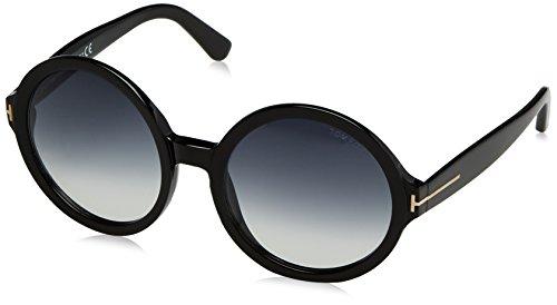 Tom ford occhiali da sole ft0369_pan_01b (55 mm) black, 55
