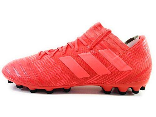 sports shoes e5823 6736a Adidas Nemeziz 17.3 AG, Botas de Fútbol para Hombre, Naranja (Correa Rojent