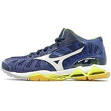 4342cec5f9a7e Mizuno Scarpe Volley Uomo - WAVE TORNADO X MID - V1GA1617-71 - BlueDepths