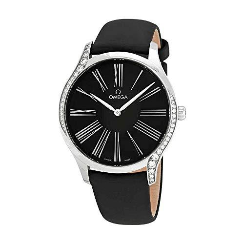 Omega De Ville 428.17.39.60.01.001 - Reloj de Pulsera para Mujer, Color Negro