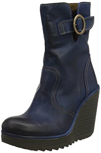 Fly London Women's CONN791FLY Boots, Blue (Blue), 5 UK 38 EU