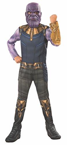Avengers - Disfraz Thanos para niño, 3-4 años (Rubie'S 641055-S)