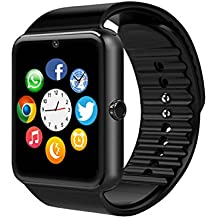 Smart Watch, Luluking YG8 sweatproof Bluetooth Intelligente Orologio da polso Telefono con Slot per Scheda SIM / TF per Android HTC Sony LG Google Pixel / Pixel XL e iPhone iOS smartphone